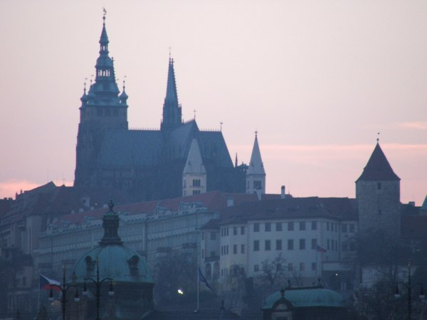 Собор Святого Вита — доминанта Пражского града