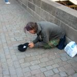 Пражские бездомные – символ старой Праги