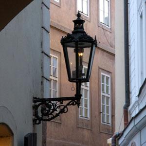 Волшебный свет пражских фонарей