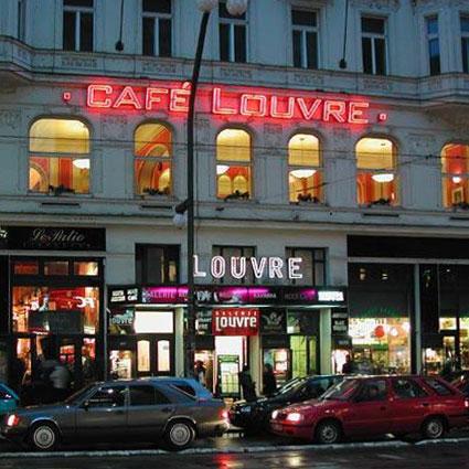 Пражский «Лувр» – кафе-ресторан для своих
