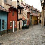 Золотая улочка Праги.