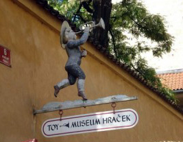 Музей «Игрушек» в Праге
