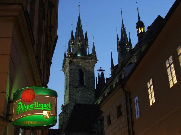 Кафе, бары, рестораны Праги