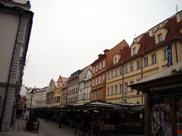 Havelská — «рыночная» улица в Праге
