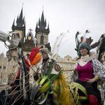 Карнавал в Праге.