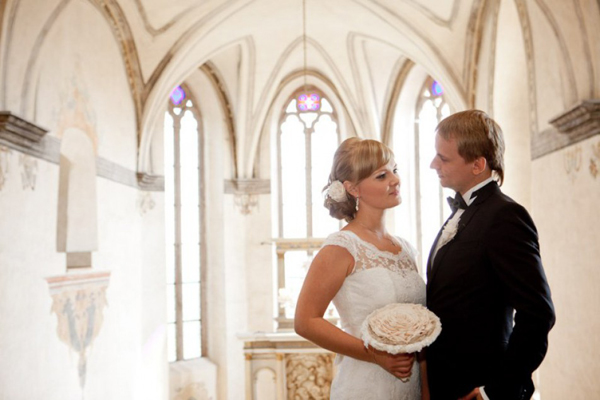 Свадьба в замке Костелец