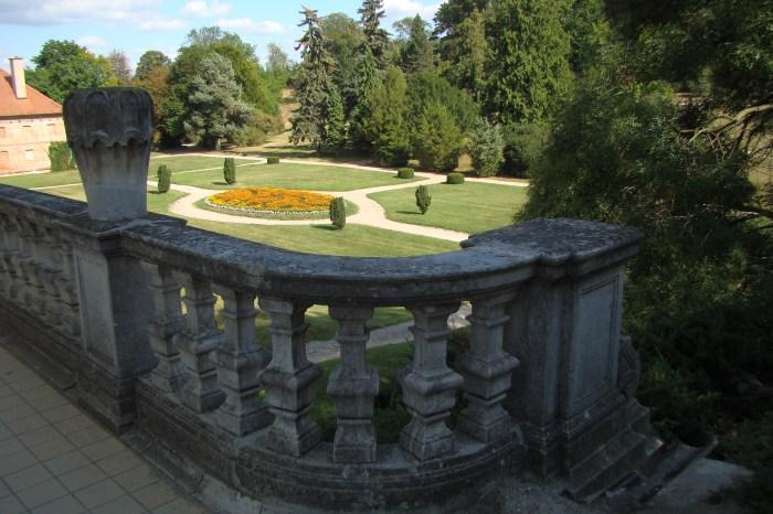 Английский парк в Валтице