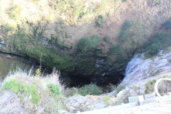 Пропасть Мацоха - вид с верхнего мостика
