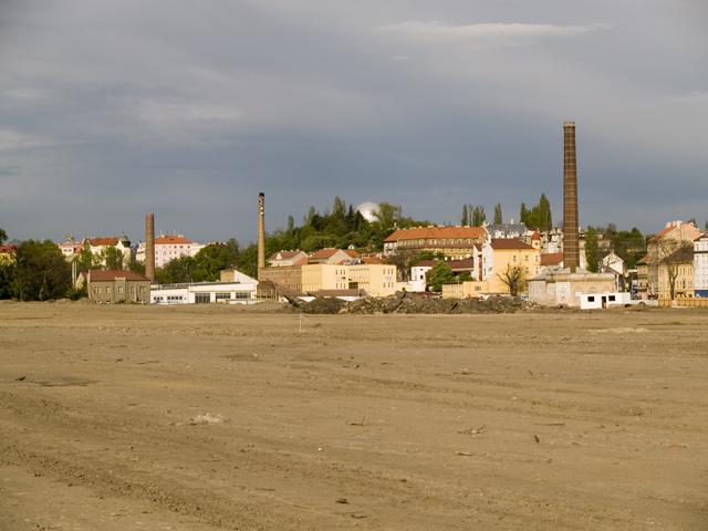 Промышленный район Либень в Праге